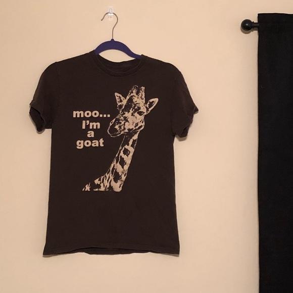 3cbbc46d Shirts   Moo Im A Goat Giraffe Tee   Poshmark